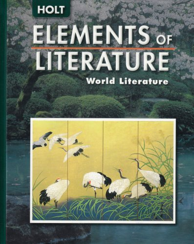 9780030377228: Elements of Literature: World Literature
