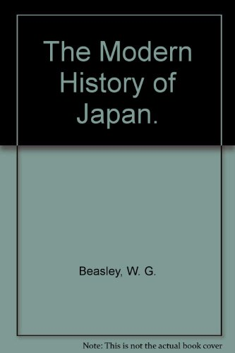 9780030379314: The Modern History of Japan.