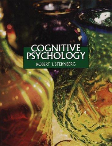9780030379475: Cognitive Psychology