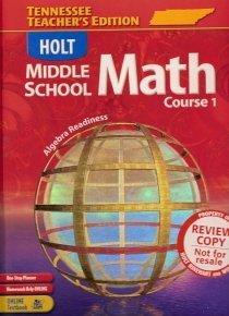 9780030379567: Holt Middle School Math, Course 1: Algebra Readiness, Teacher's Edition