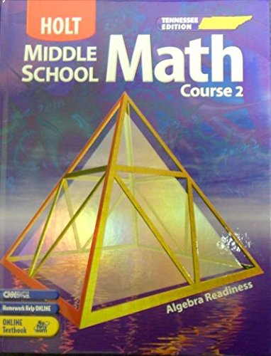 9780030379574: Holt Middle School Math, Course 2