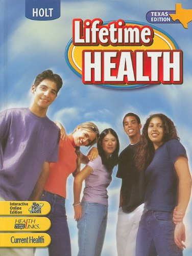 9780030379819: Holt Lifetime Health, Texas Edition