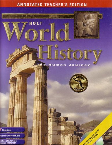 9780030381287: World History The Human Journey