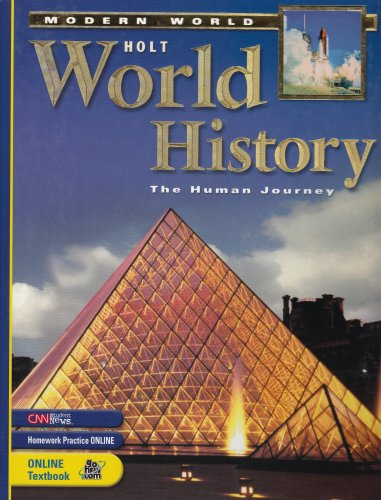 9780030381416: Holt World History, The Human Journey: Modern World (Student Edition)