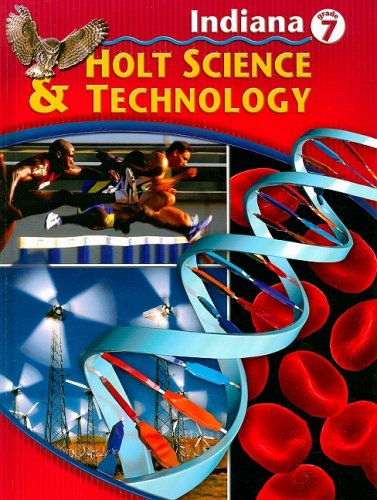 9780030381430: Holt Science and Technology Indiana: Student Edition Grade 7 2005
