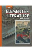 9780030382819: Elements of Literature: Student Edition (with The Crucible) Fifth Course 2005