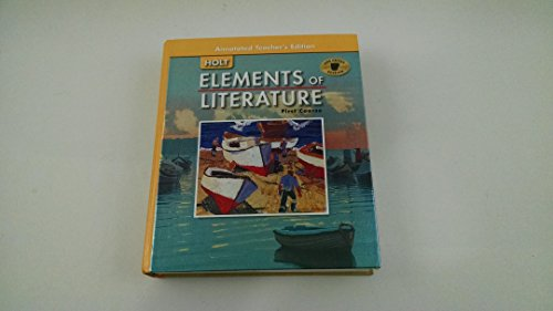 9780030382970: Holt Elements of Literature First Course Annotated Teacher's Edition, Arkansas Edition. (Holt Elements of Literature)