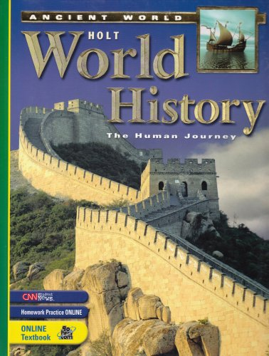 9780030383991: Holt World History: Human Journey: Student Edition Grades 9-12 Ancient World 2005