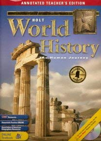 9780030384097: Holt World History: The Human Journey