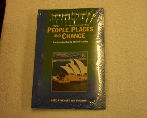 9780030384639: Holt Eastern Hemisphere People, Places, and Change - English Audio CD Summaries - An Introduction to World Studies