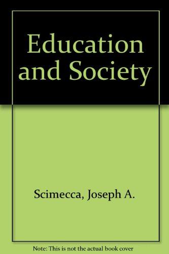 9780030384660: Education and Society
