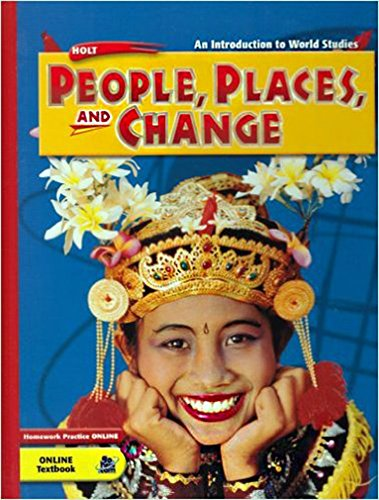 9780030384691: Holt People, Places, and Change an Introduction to World Studies (Western World English Audio Cd Summaries
