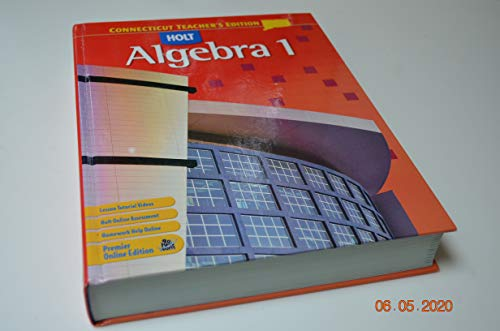 9780030385322: Holt Algebra 1, Teacher's Edition