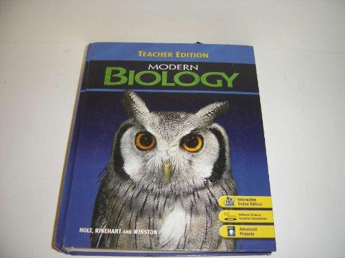9780030385414: Modern Biology, Teacher's Edition