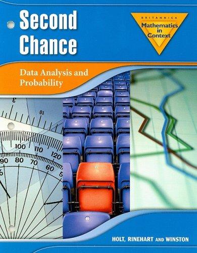9780030385582: Holt Math in Context: Second Chance Grade 7