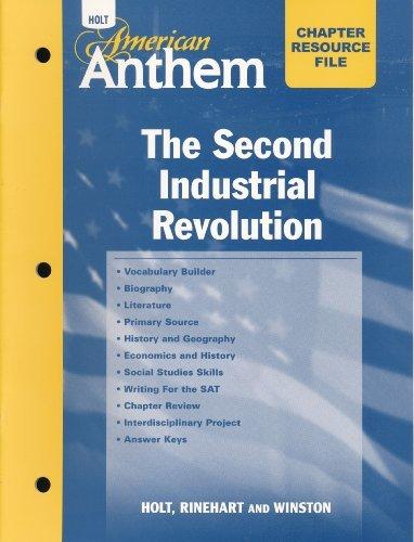 9780030386138: Crf W/ANS: II Ind Revl Am Anthem 2007