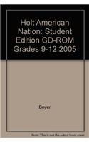9780030386268: Holt American Nation: Student Edition CD-ROM Grades 9-12 2005