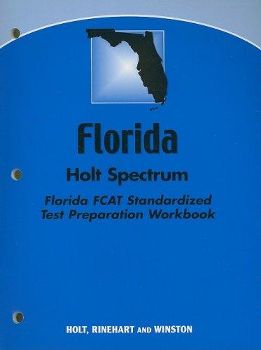 9780030386299: Holt Science Spectrum: Physical Science Florida: FCAT Standardized Test Preparation Workbook
