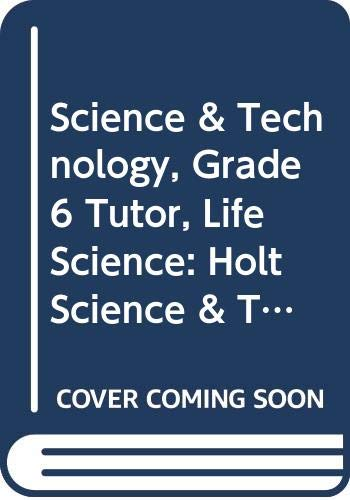 9780030388026: Holt Science & Technology: Tutor CD Life Science
