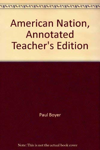 9780030388088: American Nation, Annotated Teacher's Edition