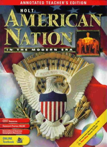American Nation in the Modern ERA - Annotated Teacher's Edition: Boyer, Paul S.