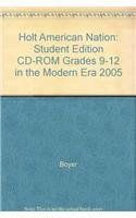 9780030388231: Holt American Nation: In the Modern Era: Student Edition CD-ROM 2005