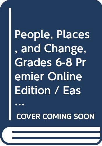 9780030388385: Holt People, Places, and Change: An Introduction to World Studies Florida: Premier Online Edition with Student Edition CD-ROM 6 Year Grades 6-8 Eastern Hemisphere 2005