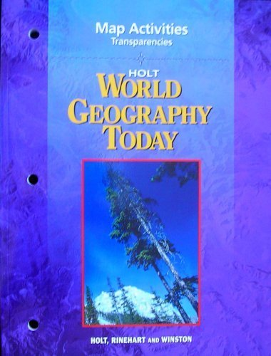 9780030388781: HOLT World Geography Today, Map Activities Transparencies