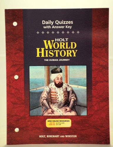 9780030388835: Daily Quizzes W/Ansky Hw: Hj 2005