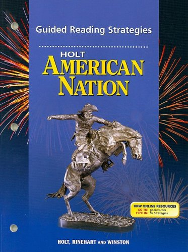9780030389016: Holt American Nation, Full Volume: Guided Reading Strategies