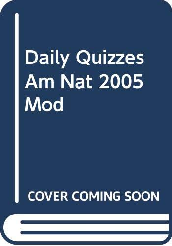 9780030389061: Holt American Nation: In the Modern Era: Daily Quizzes with Answer Key