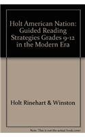 9780030389078: Holt American Nation: In the Modern Era: Guided Reading Strategies