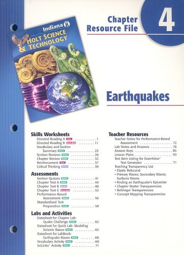 Worksheets Holt Science And Technology Worksheets holt science and technology worksheet answers 4 abebooks