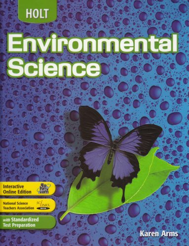 9780030390739: Holt Environmental Science: Student Edition 2006