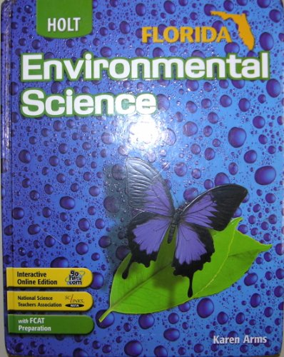 9780030390838: Holt Environmental Science Florida: Student Edition 2006