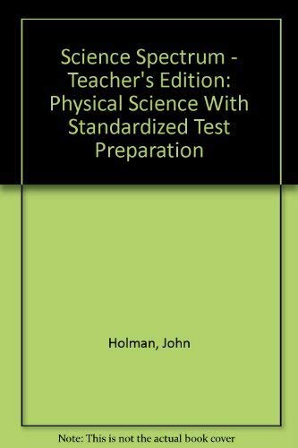 9780030390975: Holt Science Spectrum: Physical Science: Teacher Edition 2006