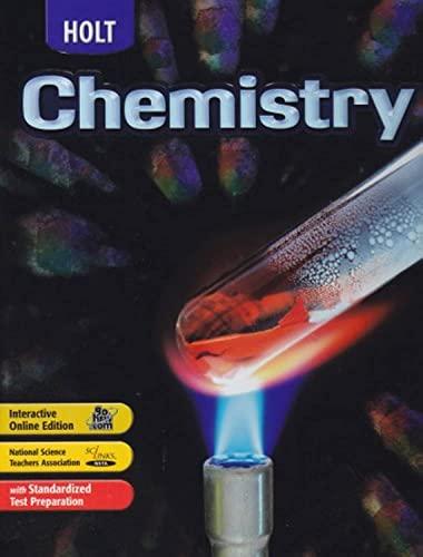 9780030391071: Holt Chemistry