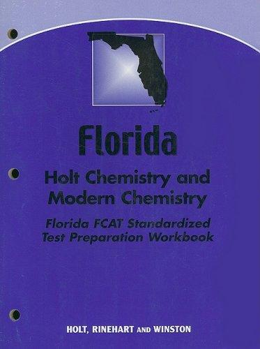 9780030391224: Modern Chemistry Florida: Holt Chemistry and Modern Chemistry FCAT Standardized Test Preparation