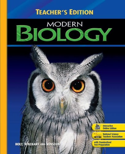 9780030393389: Biology Indiana Teacher Edition