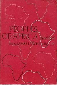 9780030393716: Peoples of Africa