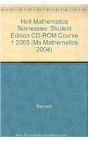 Middle School Math, Course 1: Tennessee Student Edition On CD-ROM For WIN/MAC (2005 Copyright)...