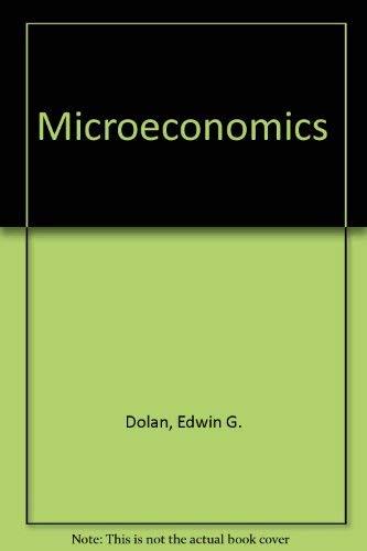 9780030396762: Microeconomics