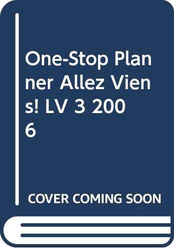 9780030397646: Holt Allez,viens! French 3 (One -Stop Planner with Exam View Pro Test Generator)