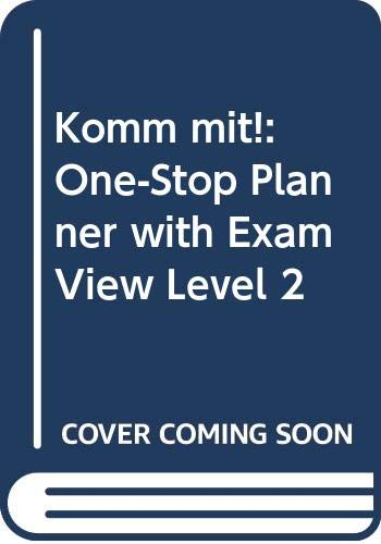 9780030397684: Komm mit!: One-Stop Planner with ExamView Level 2