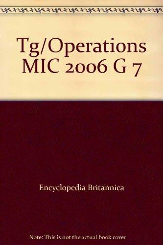9780030398230: Tg/Operations MIC 2006 G 7