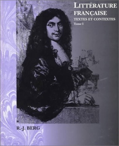 9780030398490: Litterature Francaise: Textes Et Contextes (Invit a la Litterature France)