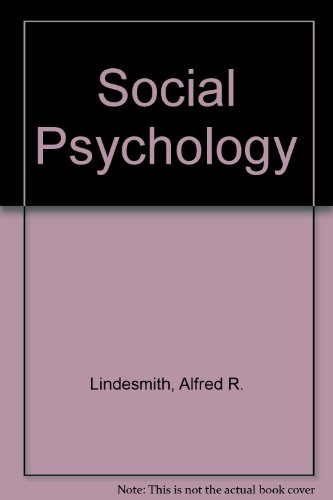 Social Psychology: Ansclm L. Strauss;