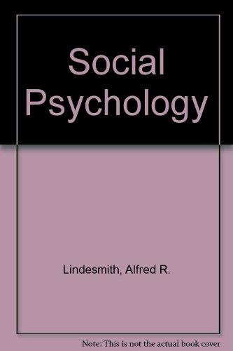9780030398612: Social Psychology