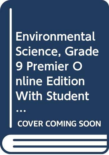9780030400278: Holt Environmental Science: Premier Online Student Edition on CD 6-Year 2006