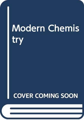 9780030400780: Modern Chemistry